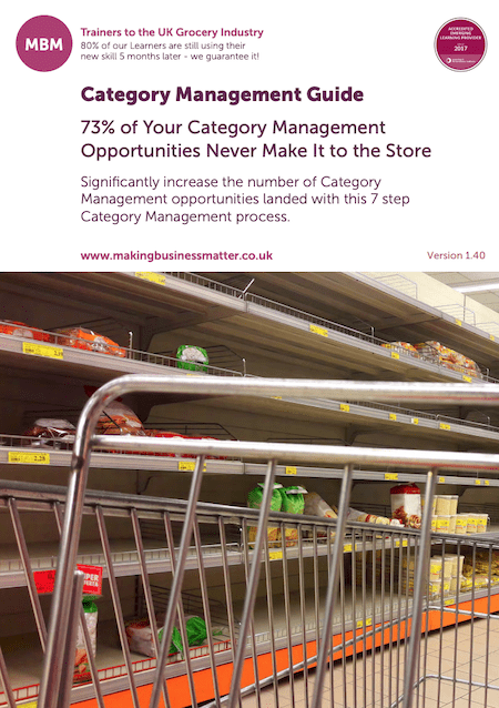 Category Management Guide front page