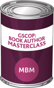 MBM Tin with the Label 'GSCOP: Book Author Masterclass'