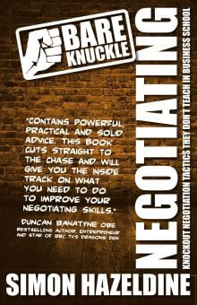 Bare Knuckle Negotiating - Negotiation Skills Trainer cover