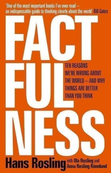 Front cover of Factfulness by Hans Rosling