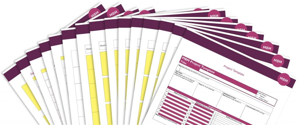papers project templates with MBM logo