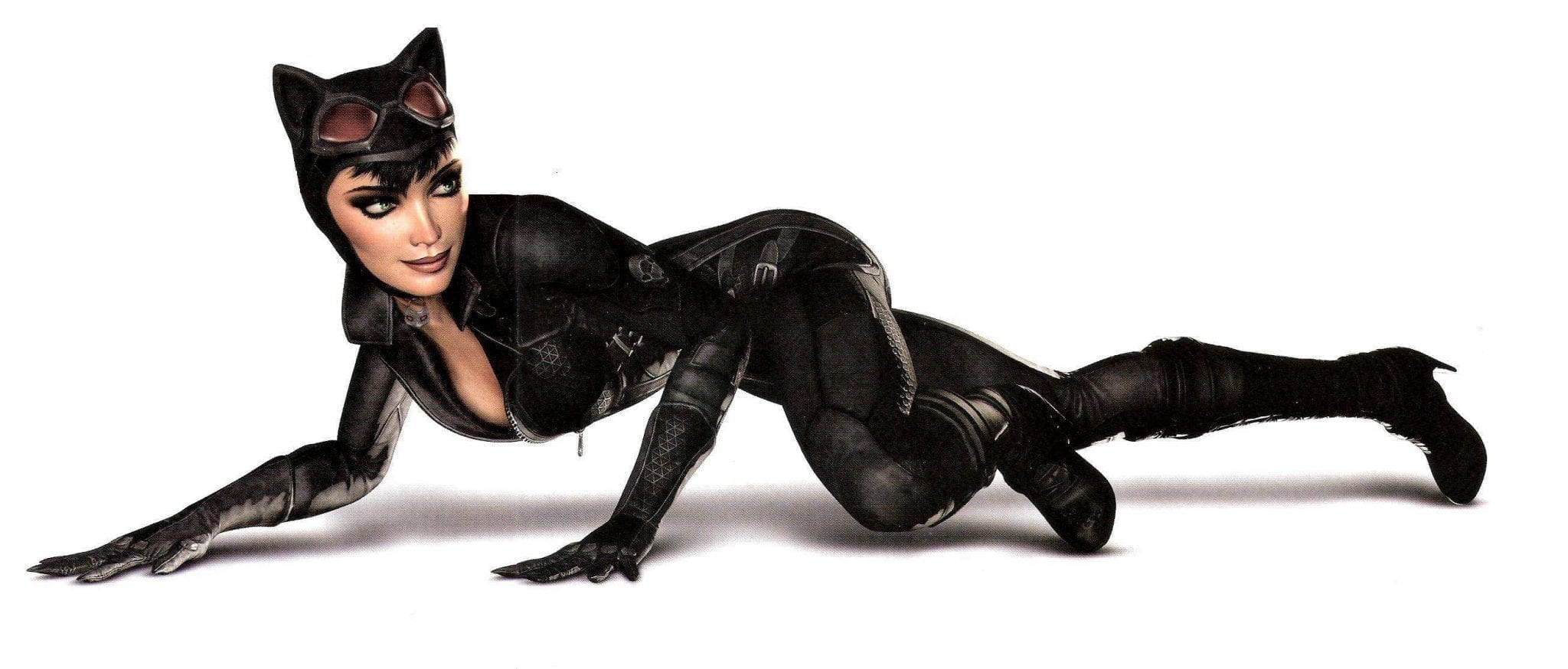 Lady dressed as Catwoman HRTime - Stealth Mode