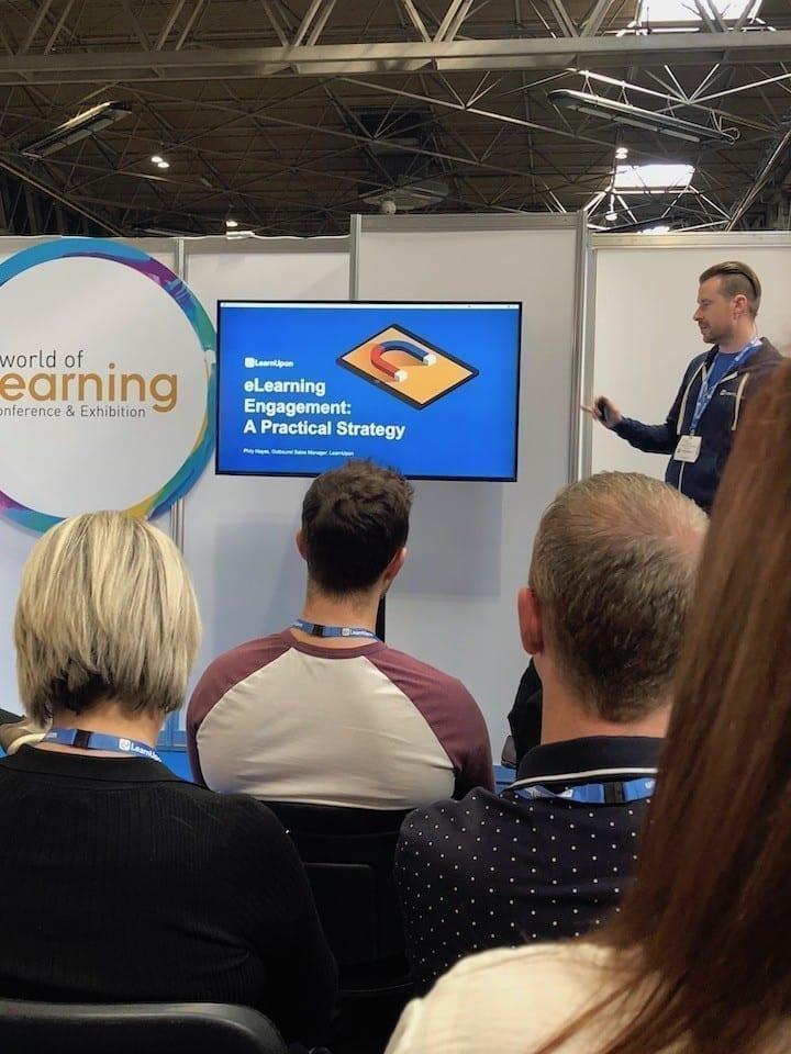 World of Learning expo presentation on engagement