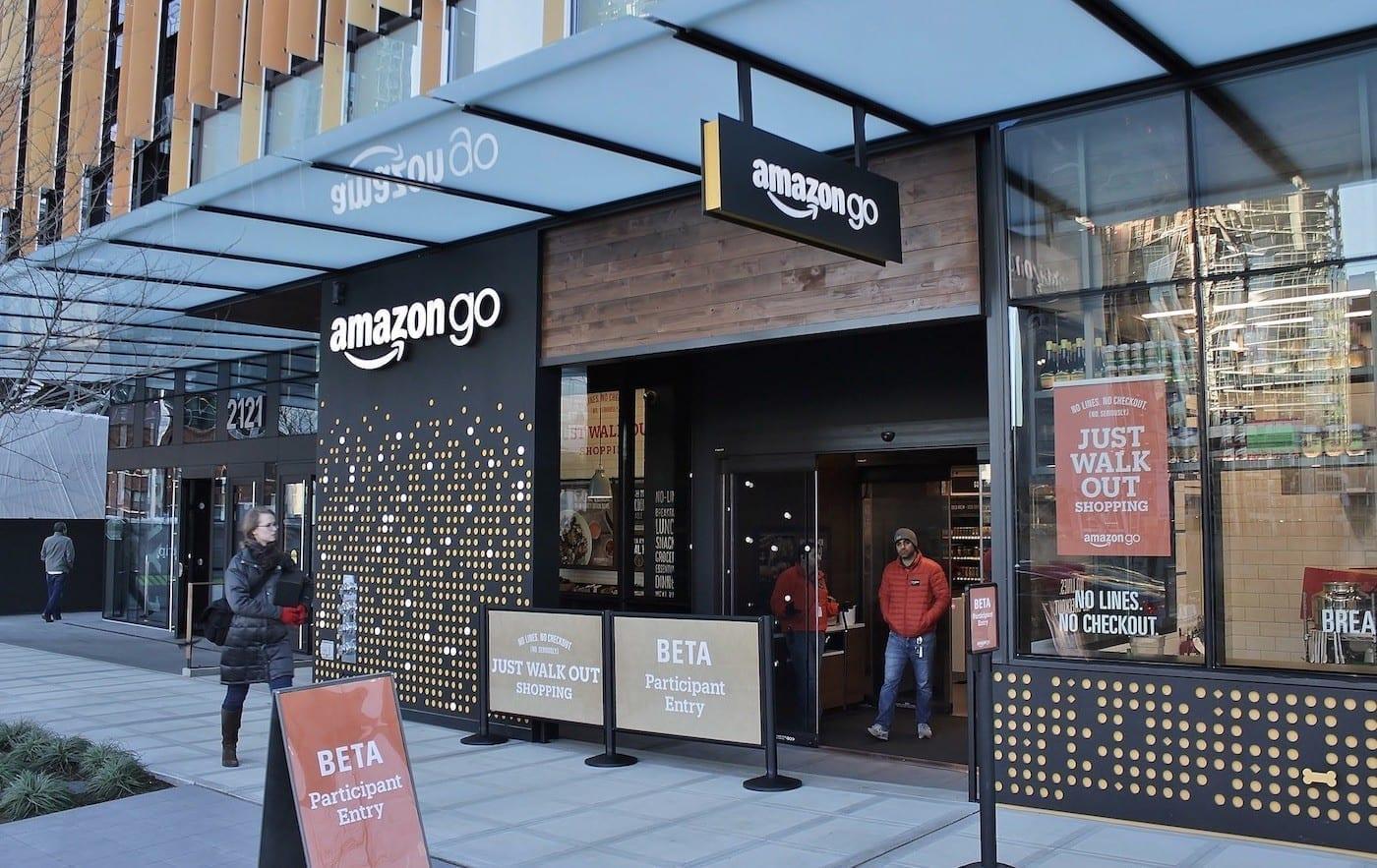Amazon Go shop trial runs