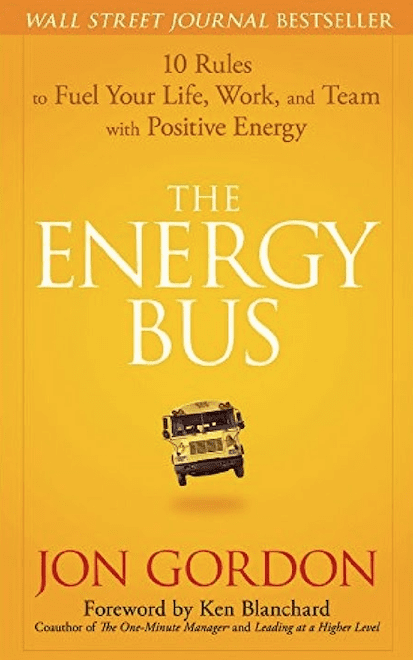 Book Cover for The Energy Bus by Jon Gordon