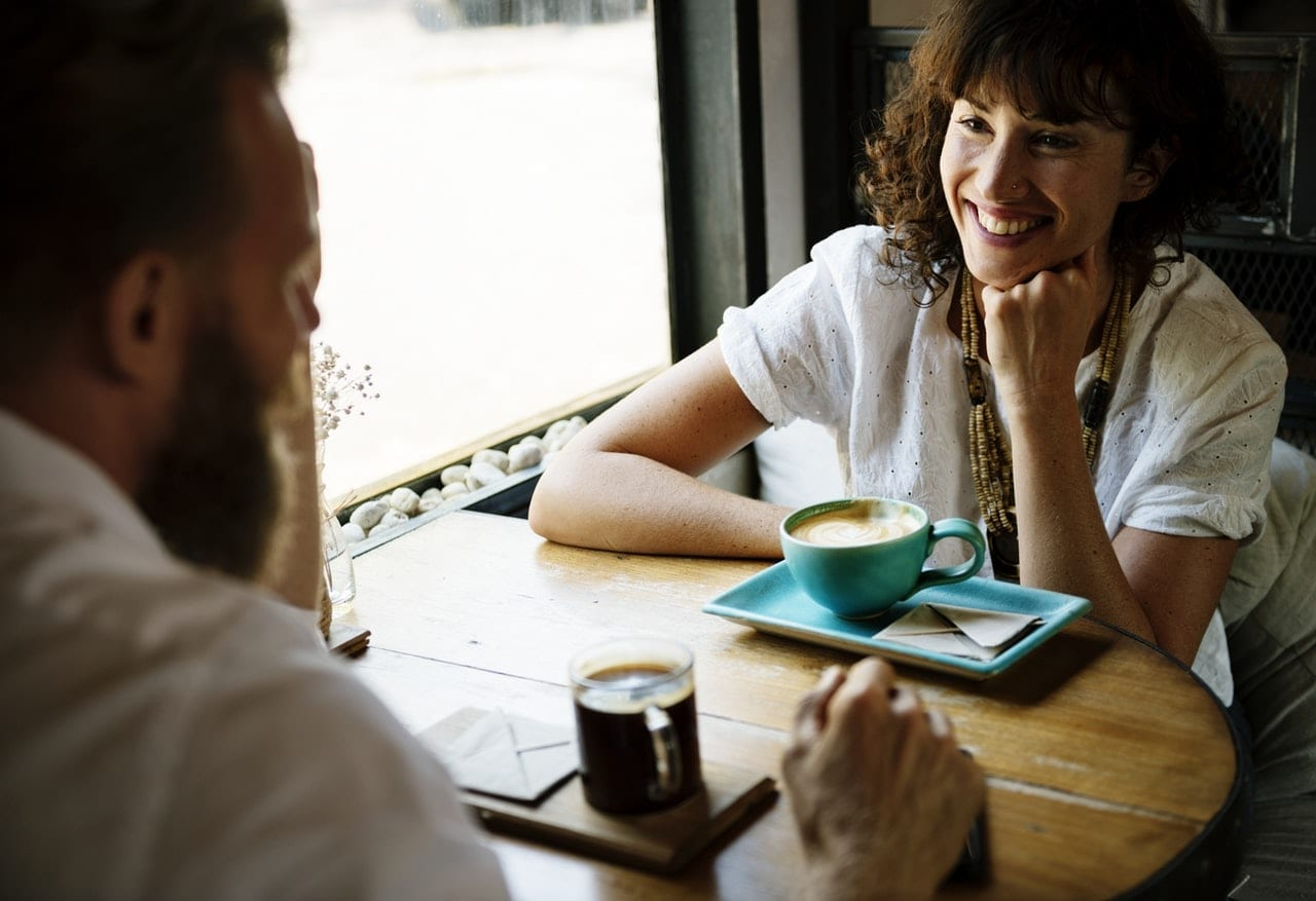 Open dialogue over a cup of coffee