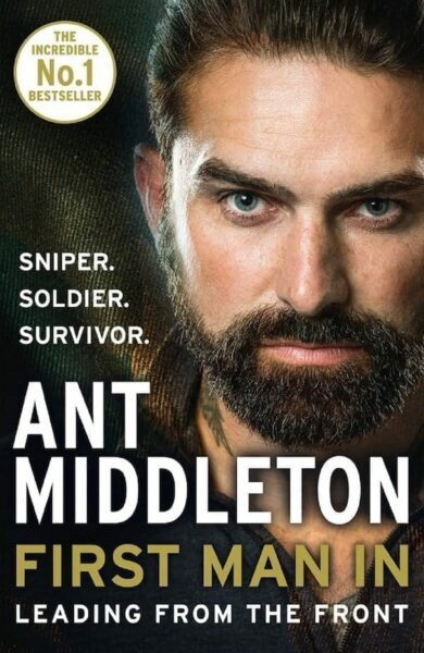 Book Cover for First Man by Ant Middleton