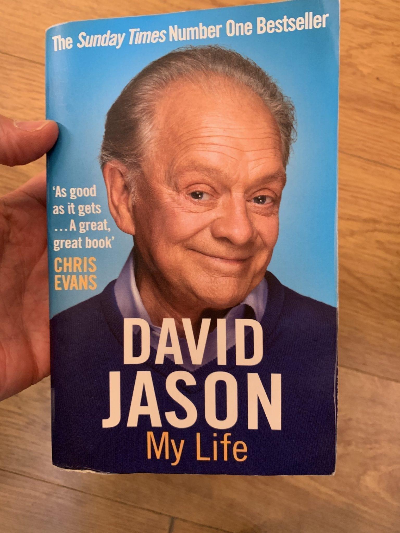 David Jason My Life, Book Cover