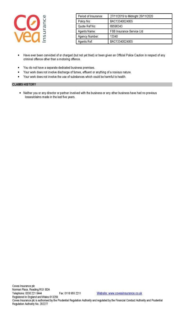 Professional Insurance Covea-MBM