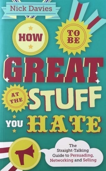 How to be Great at the Stuff You Hate, Book Cover